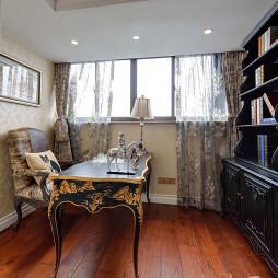 家装欧式格调书房设计