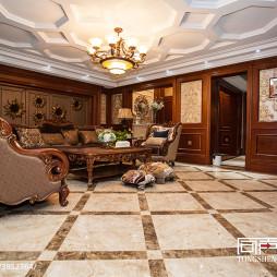 家居歐式客廳裝修圖