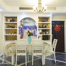 家装地中海风餐厅设计