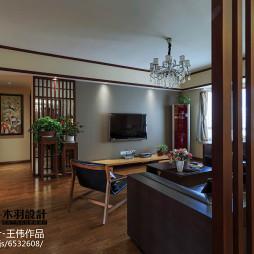 三室两厅中式装修效果图