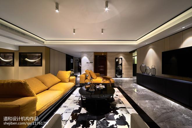 时尚家装现代客厅效果图装修