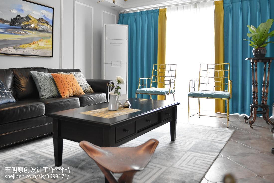 美式复古窗帘