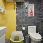 家装美式格调卫浴设计图