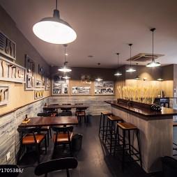 """""""大铜勺""""餐饮空间吧台设计"""
