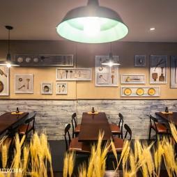 """""""大铜勺""""餐饮空间餐桌设计"""