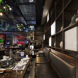 【黄记煌】餐饮空间沙发区设计