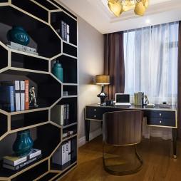 时尚家装欧式书房设计