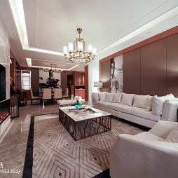 家装时尚混搭客厅设计