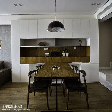 典雅简约风格餐厅设计