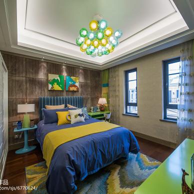 家居中式风儿童房效果图
