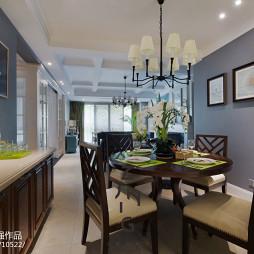 家装时尚美式格调餐厅设计