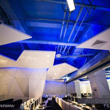 NASA CyberCafe网鱼网咖天花板设计