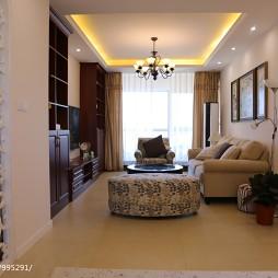 时尚美式客厅装修设计大全