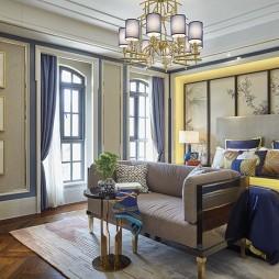 东方风情中式卧室设计