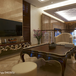 家裝歐式風格別墅客廳裝修