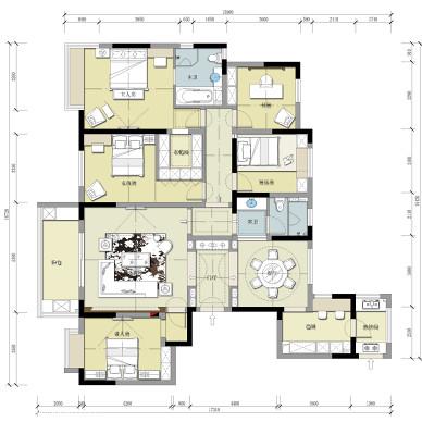 现代简约宅室内设计_2337580
