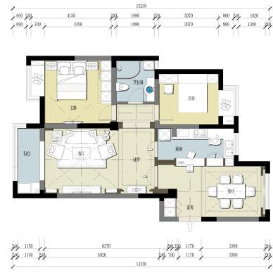 美式混搭室内设计_2337587
