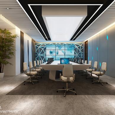 会议室设计效果图_2338424