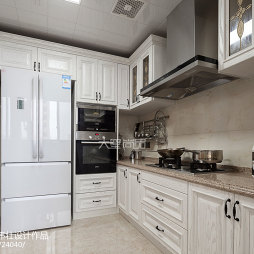 172㎡现代美式风厨房装修