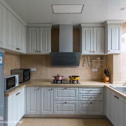 美式风格家装厨房设计图