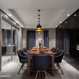 现代家装风格餐厅效果图