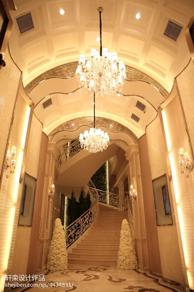 深圳杜兰朵婚纱影楼唯美楼梯设计