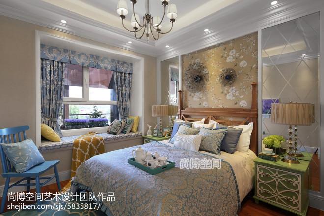 温馨田园家居卧室设计