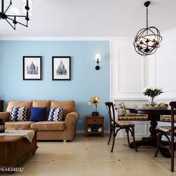 美式客厅设计装修