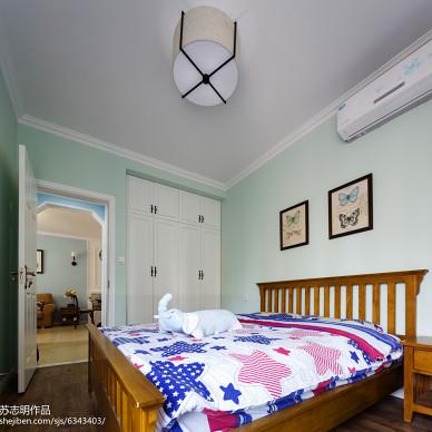 美式清新儿童房布置