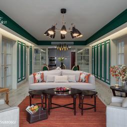 摩登美式客厅装修设计大全