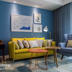 清新北欧风格客厅装修设计大全