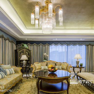 欧式豪宅客厅设计