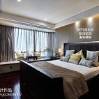 中式高端卧室装修效果图