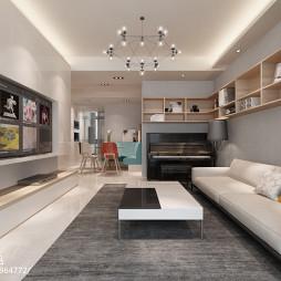 家居简约风格整体客厅装修大全