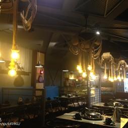 蒸汽火锅店用餐区布局图