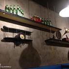 火锅店墙面装饰物设计