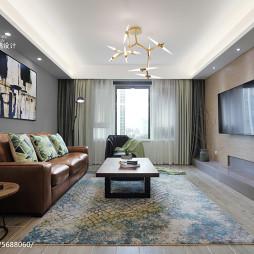 清新简约风格客厅装修案例