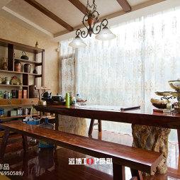 古典美式别墅休闲区设计
