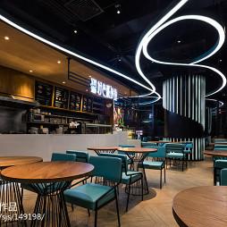 特色餐厅整体设计效果图