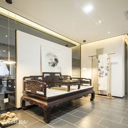 中式风格家居客厅装修效果图