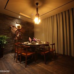 混搭风格餐厅就餐空间设计