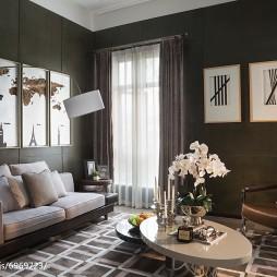现代简约风格家居别墅客厅设计