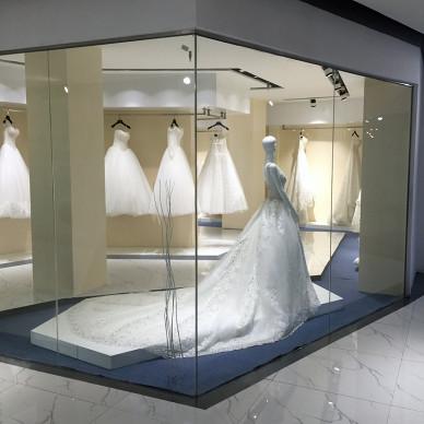 时尚婚纱展厅设计图