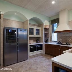 家装美式风格厨房效果图