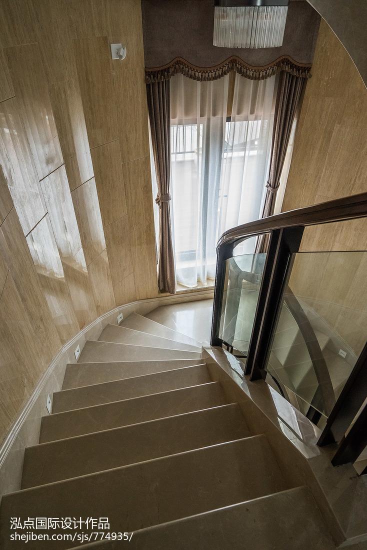 国际资讯_豪华中式风格楼梯装修 – 设计本装修效果图