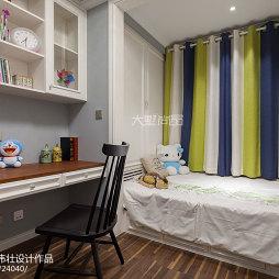 美式风格儿童房装饰图