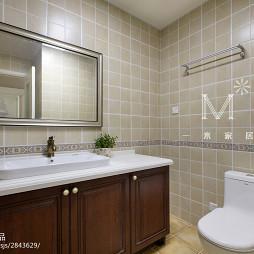 美式风格卫浴设计案例
