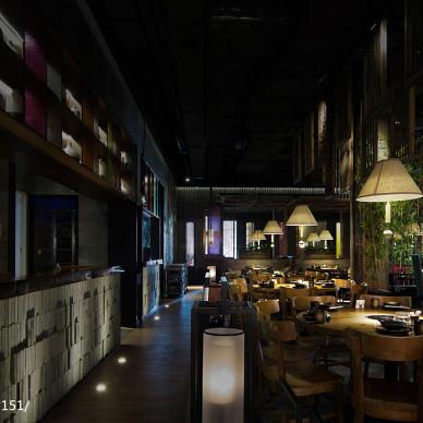 【朗昇国际商业设计】润小馆·海南椰子鸡餐厅|慢煮旧日时光_2386584