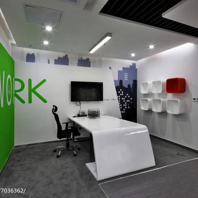 平安科技有限公司办公室设计