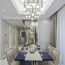 家装欧式风格餐厅装修效果图